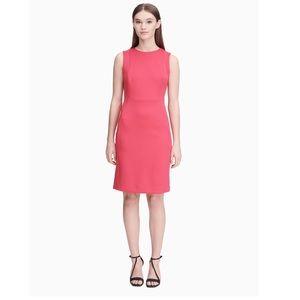 Calvin Klein | Solid Scuba Sheath Dress